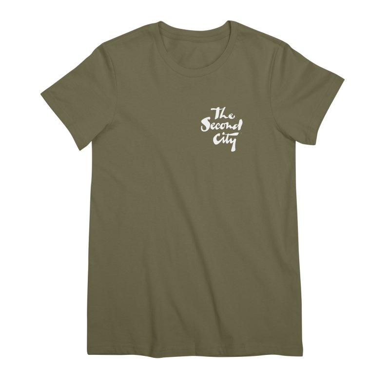 The Flagship Pocket Style Women's Premium T-Shirt by secondcity's Artist Shop