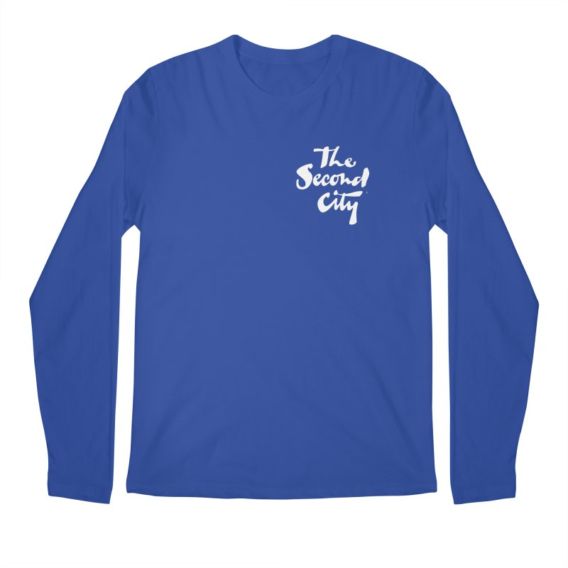 The Flagship Pocket Style Men's Regular Longsleeve T-Shirt by The Second City