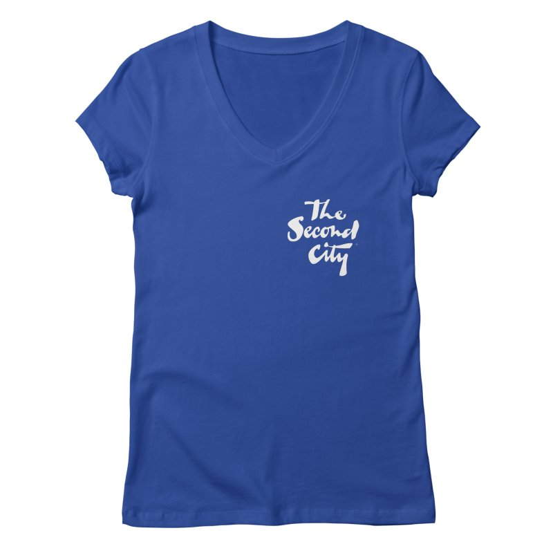The Flagship Pocket Style Women's Regular V-Neck by The Second City
