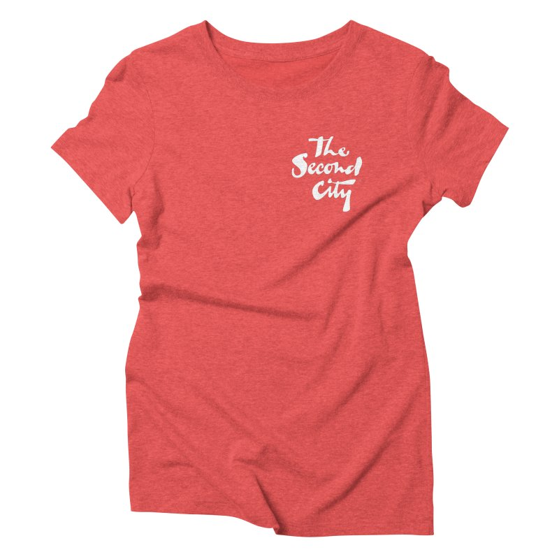 The Flagship Pocket Style Women's Triblend T-Shirt by The Second City
