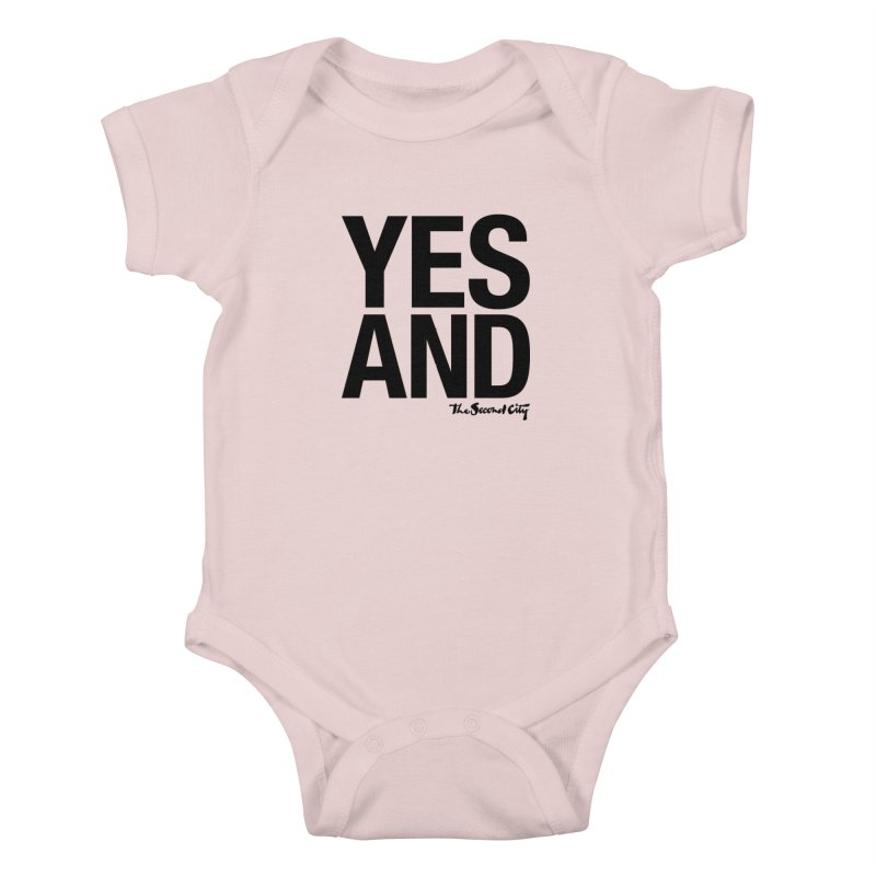 Yes, And Kids Baby Bodysuit by The Second City
