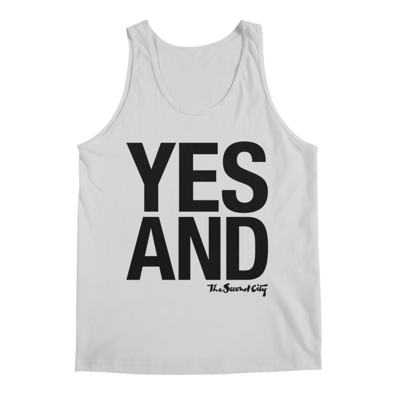 Yes, And Men's Regular Tank by The Second City