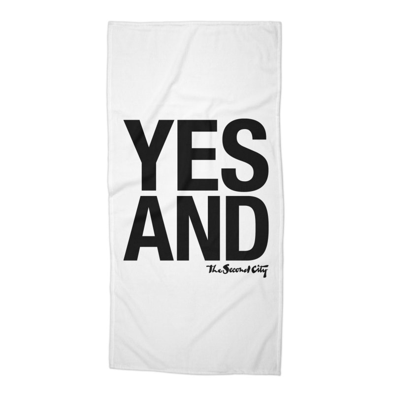 Yes, And Accessories Beach Towel by The Second City