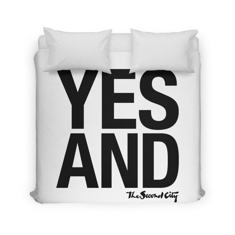 Yes, And Home Duvet by The Second City