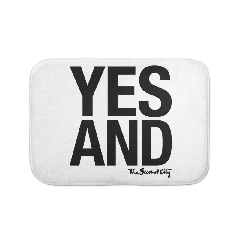 Yes, And Home Bath Mat by The Second City