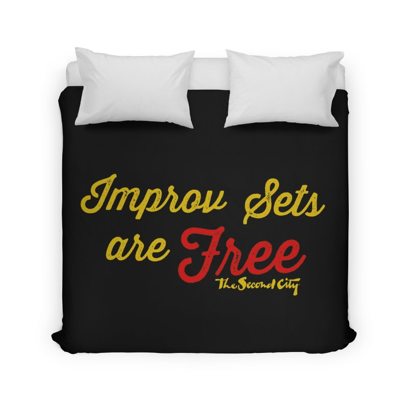 Improv Sets are Free Home Duvet by The Second City