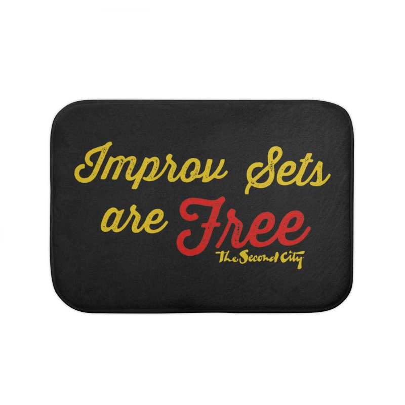 Improv Sets are Free Home Bath Mat by The Second City