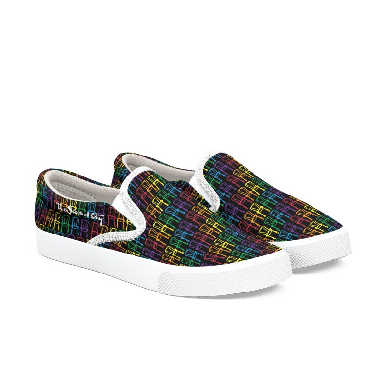 Second City Pride Men's Slip-On Shoes by The Second City