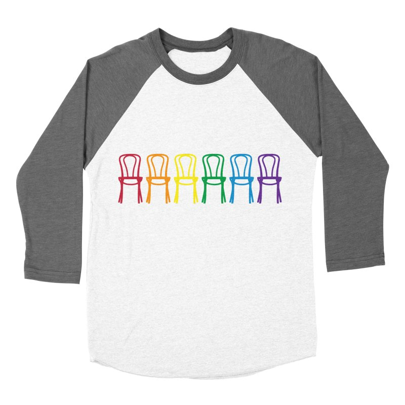 Second City Pride Women's Baseball Triblend Longsleeve T-Shirt by The Second City