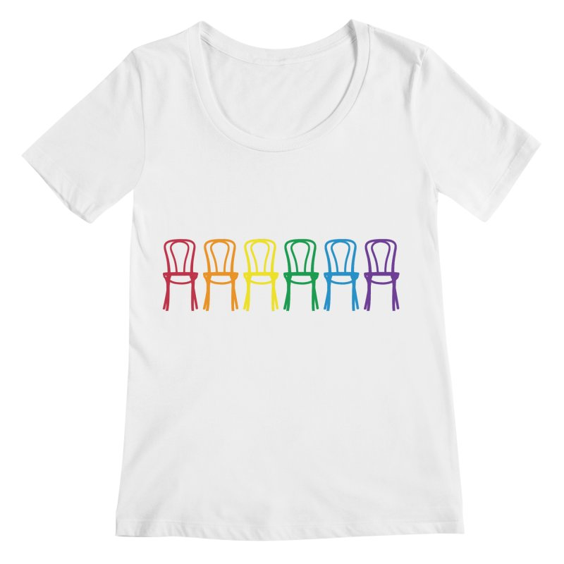 Second City Pride Women's Regular Scoop Neck by The Second City