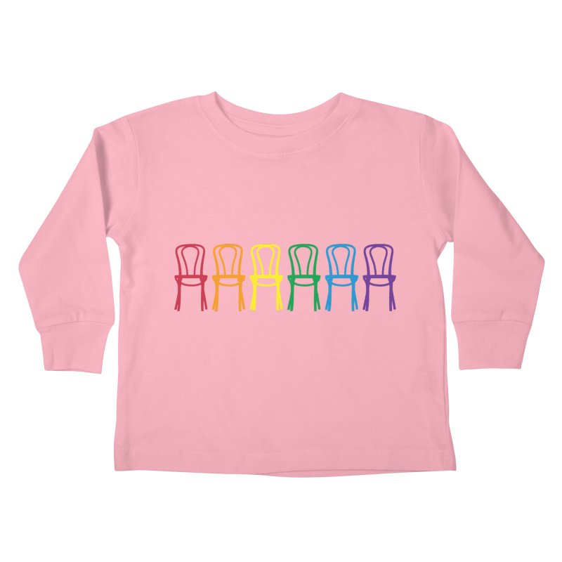 Second City Pride Kids Toddler Longsleeve T-Shirt by The Second City