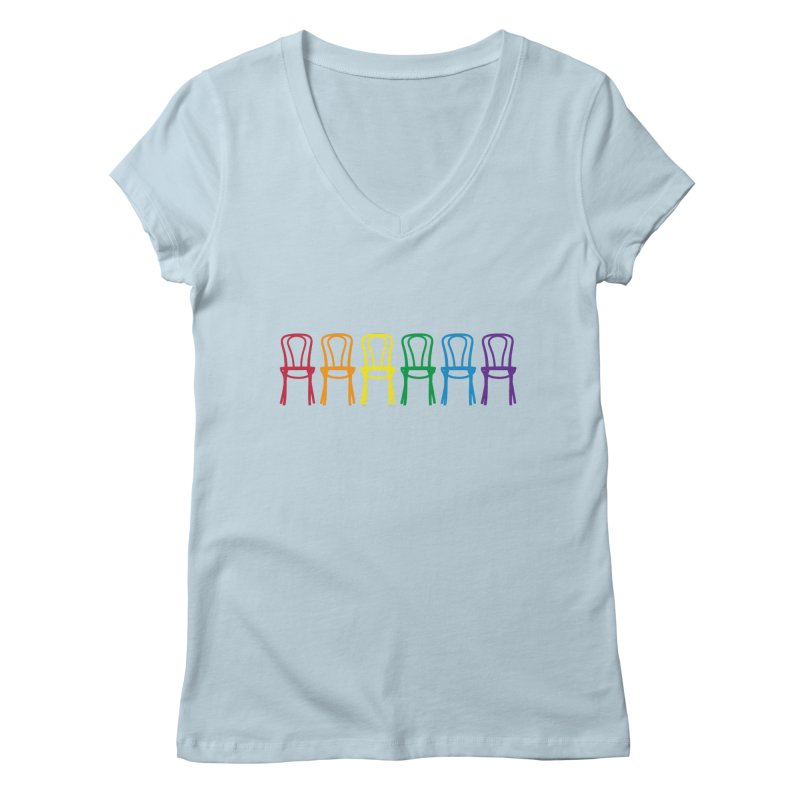 Second City Pride Women's Regular V-Neck by The Second City