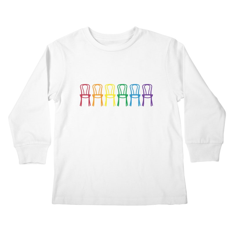 Second City Pride Kids Longsleeve T-Shirt by The Second City