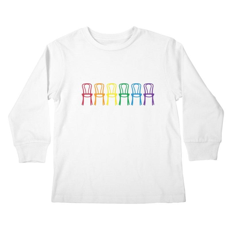 Second City Pride Kids Longsleeve T-Shirt by secondcity's Artist Shop