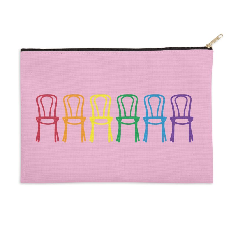 Second City Pride Accessories Zip Pouch by The Second City