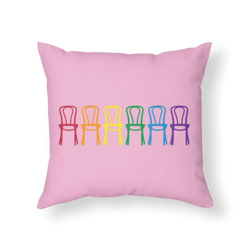 Second City Pride Home Throw Pillow by secondcity's Artist Shop