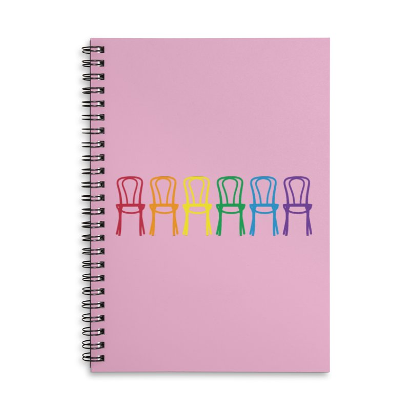 Second City Pride Accessories Lined Spiral Notebook by The Second City