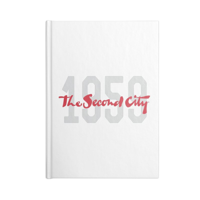 1959 Logo Accessories Blank Journal Notebook by The Second City
