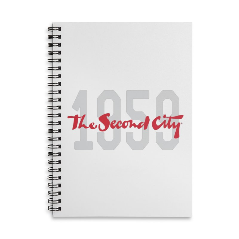 1959 Logo Accessories Lined Spiral Notebook by The Second City
