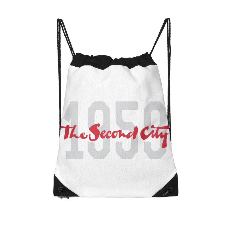 1959 Logo Accessories Drawstring Bag Bag by The Second City