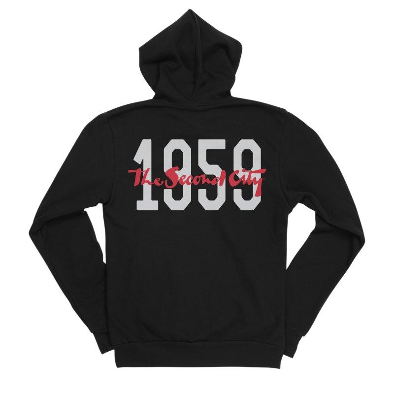 1959 Logo Men's Sponge Fleece Zip-Up Hoody by The Second City