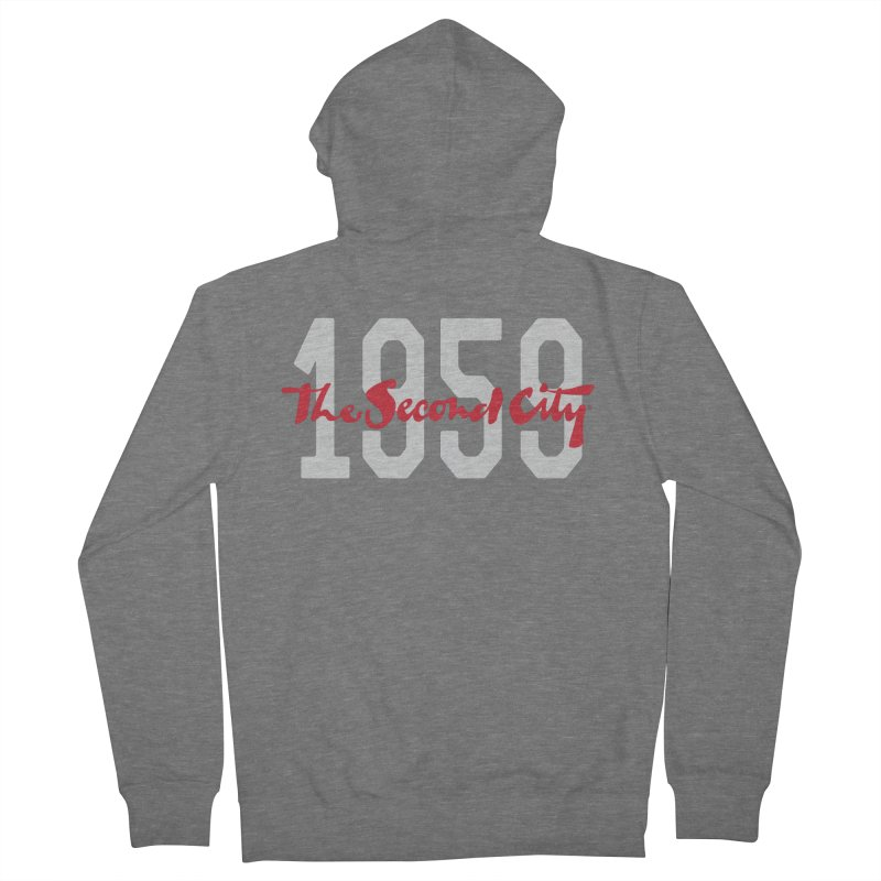1959 Logo Men's French Terry Zip-Up Hoody by The Second City