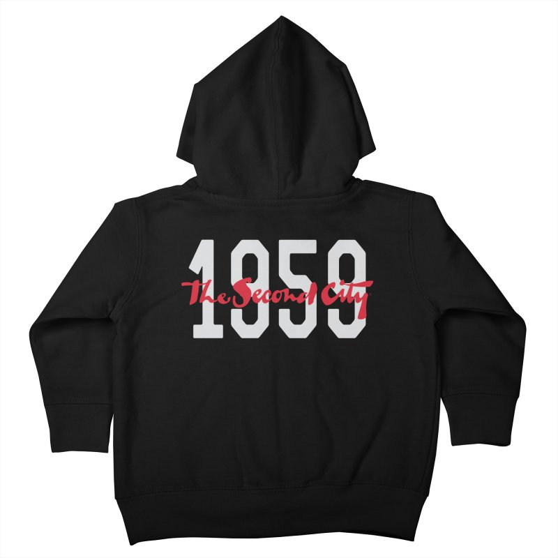 1959 Logo Kids Toddler Zip-Up Hoody by The Second City
