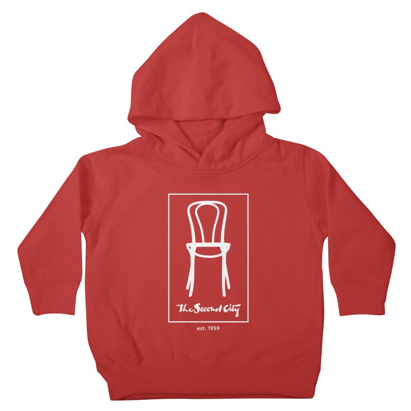 Card Game Logo Kids Toddler Pullover Hoody by The Second City