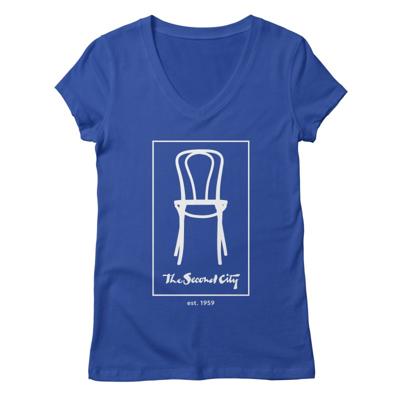 Card Game Logo Women's Regular V-Neck by The Second City