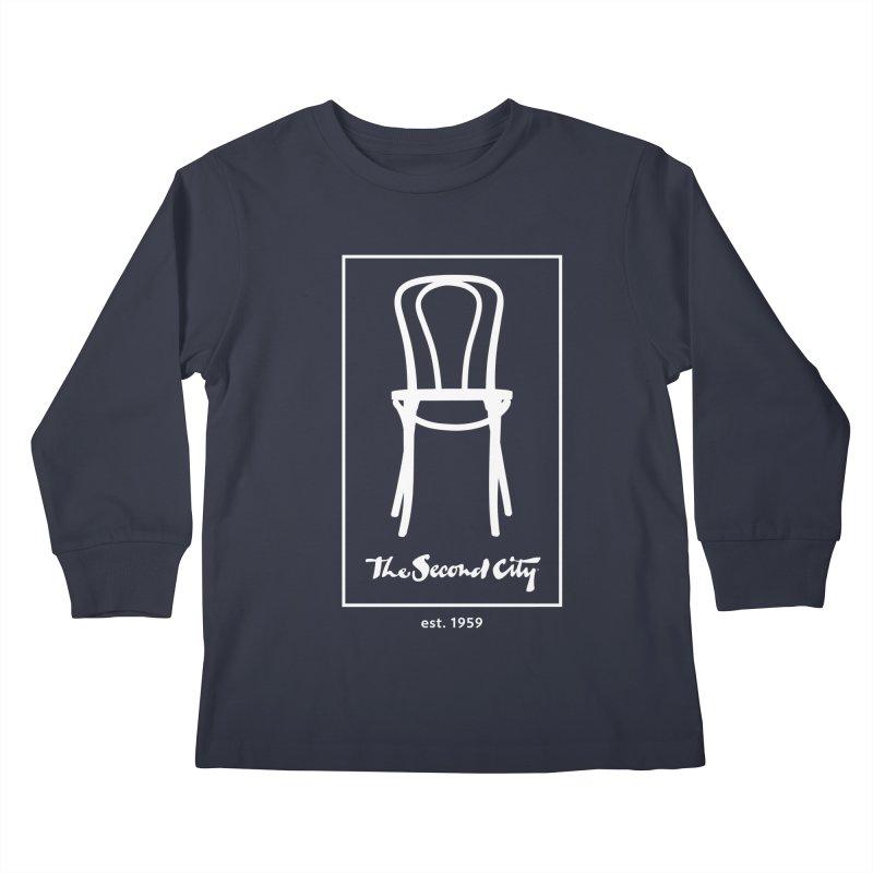 Card Game Logo Kids Longsleeve T-Shirt by secondcity's Artist Shop
