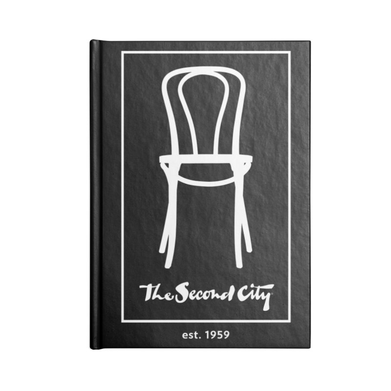 Card Game Logo Accessories Blank Journal Notebook by The Second City