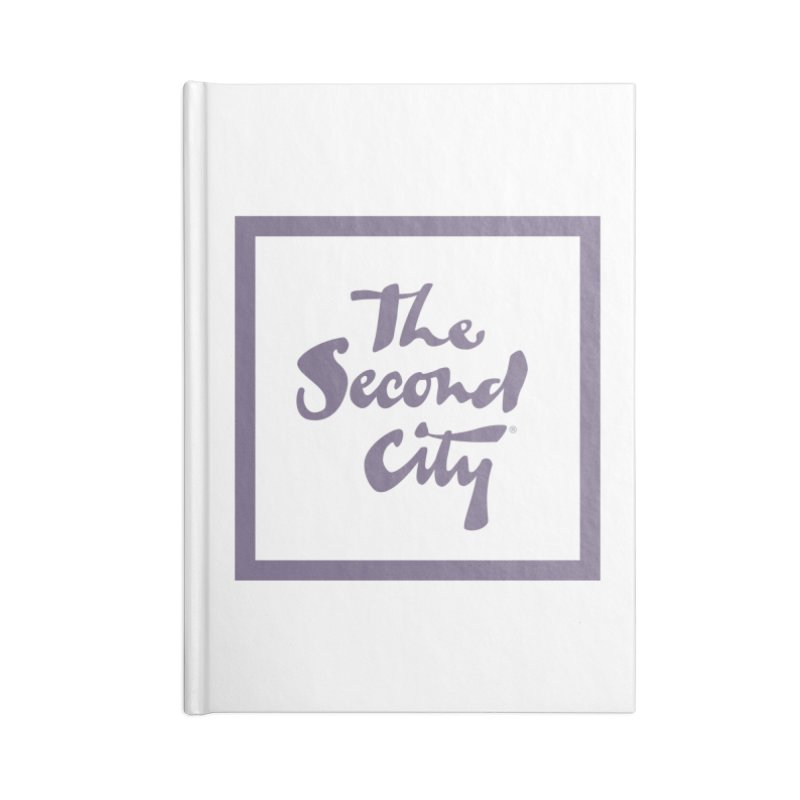 Stacked Lavender Accessories Lined Journal Notebook by The Second City