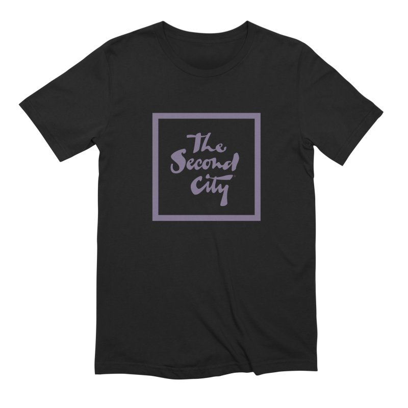 Stacked Lavender Men's T-Shirt by secondcity's Artist Shop