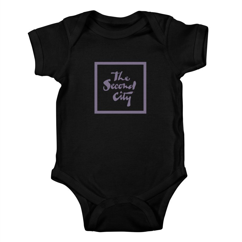 Stacked Lavender Kids Baby Bodysuit by secondcity's Artist Shop