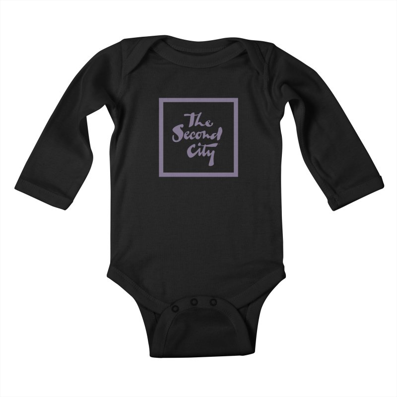 Stacked Lavender Kids Baby Longsleeve Bodysuit by The Second City