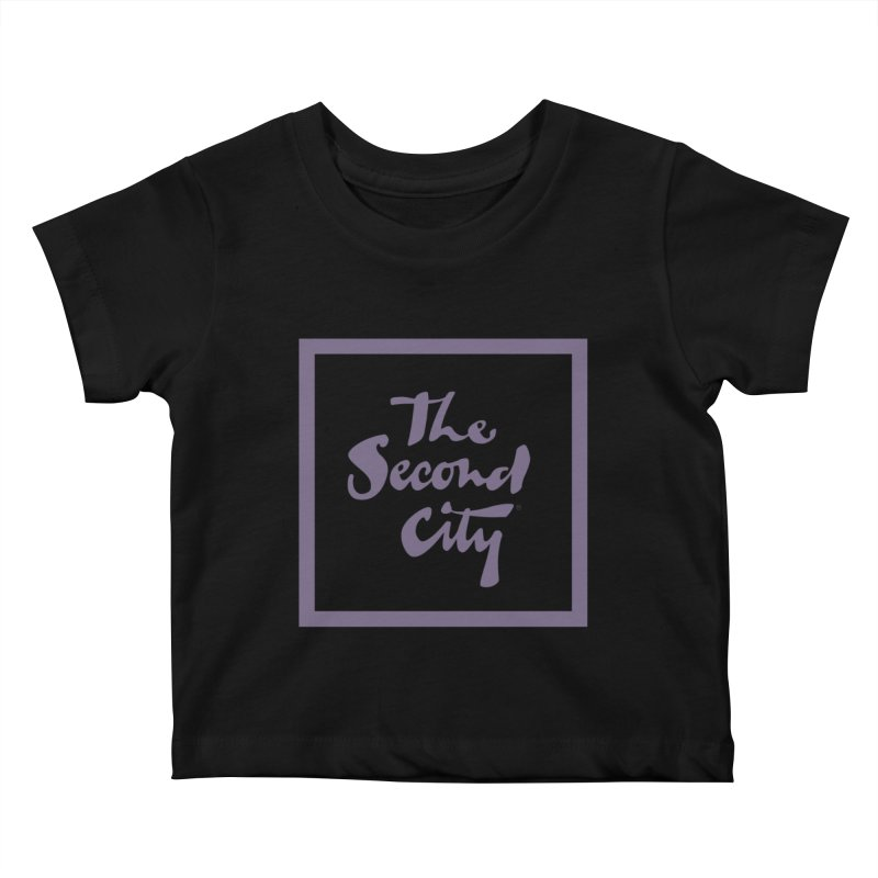 Stacked Lavender Kids Baby T-Shirt by The Second City