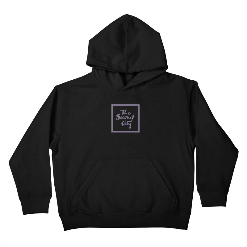 Stacked Lavender Kids Pullover Hoody by The Second City