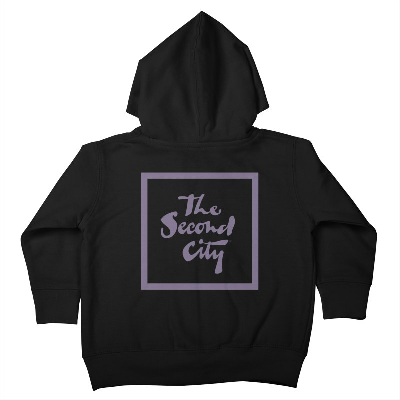 Stacked Lavender Kids Toddler Zip-Up Hoody by The Second City
