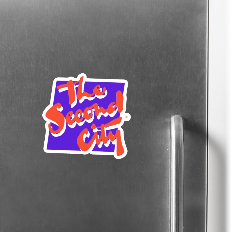 80s Stacked Accessories Magnet by The Second City