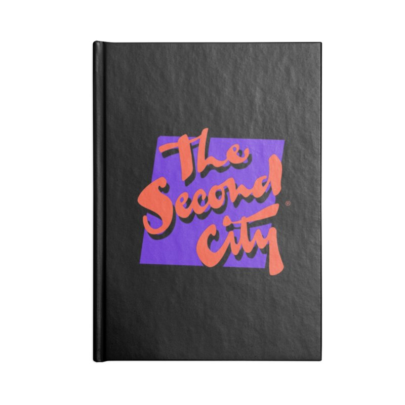 80s Stacked Accessories Blank Journal Notebook by The Second City