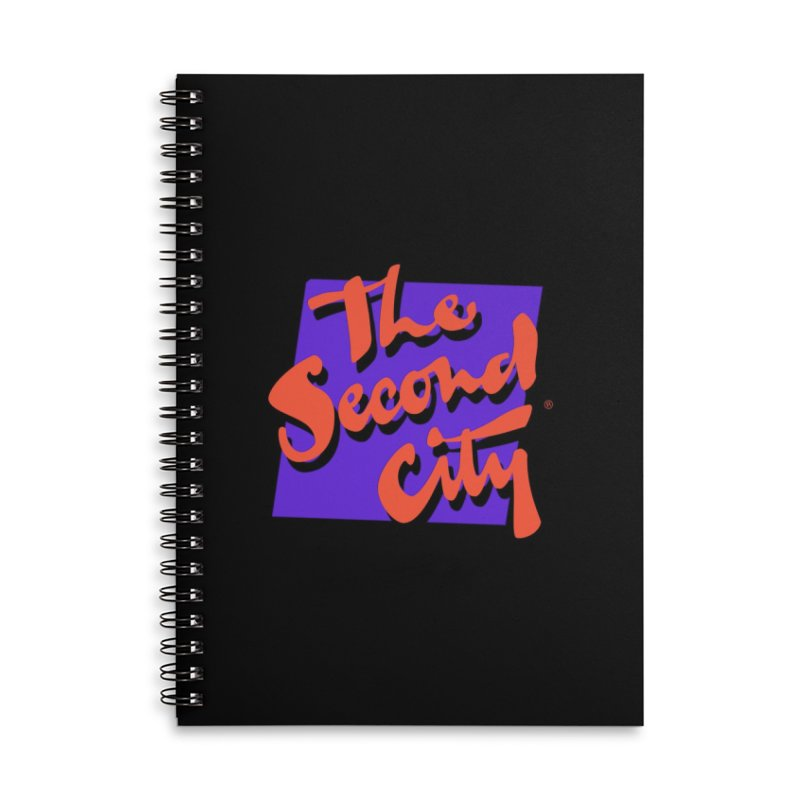 80s Stacked Accessories Lined Spiral Notebook by The Second City