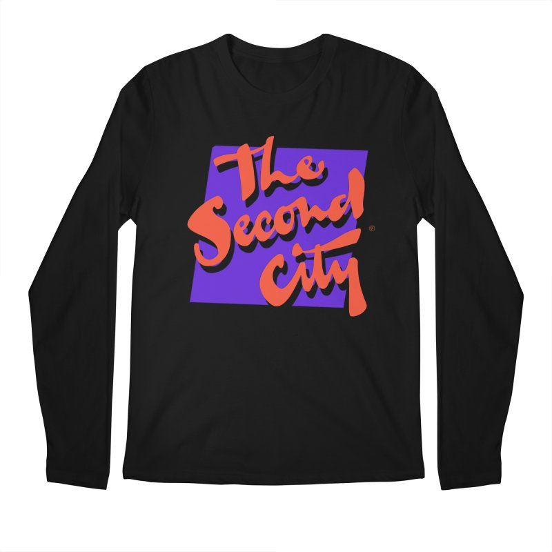 80s Stacked Men's Regular Longsleeve T-Shirt by The Second City