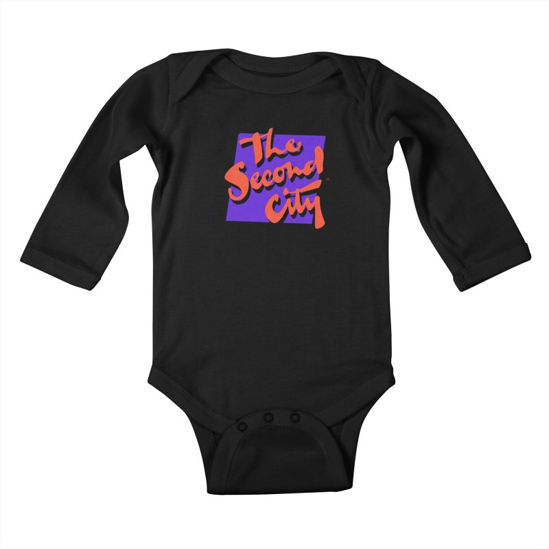 80s Stacked Kids Baby Longsleeve Bodysuit by The Second City
