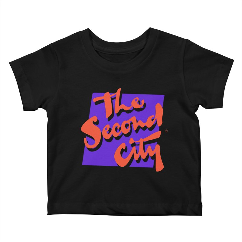 80s Stacked Kids Baby T-Shirt by The Second City