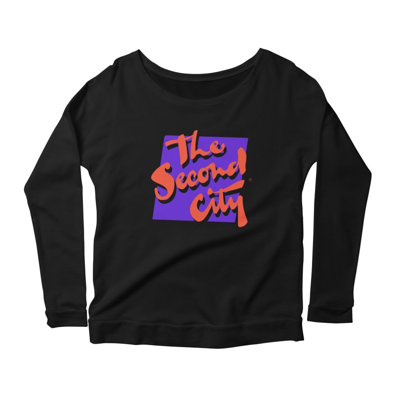 80s Stacked Women's Scoop Neck Longsleeve T-Shirt by The Second City