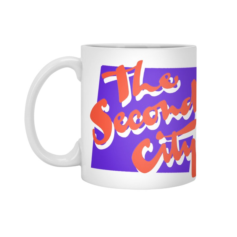80s Stacked in Standard Mug White by The Second City