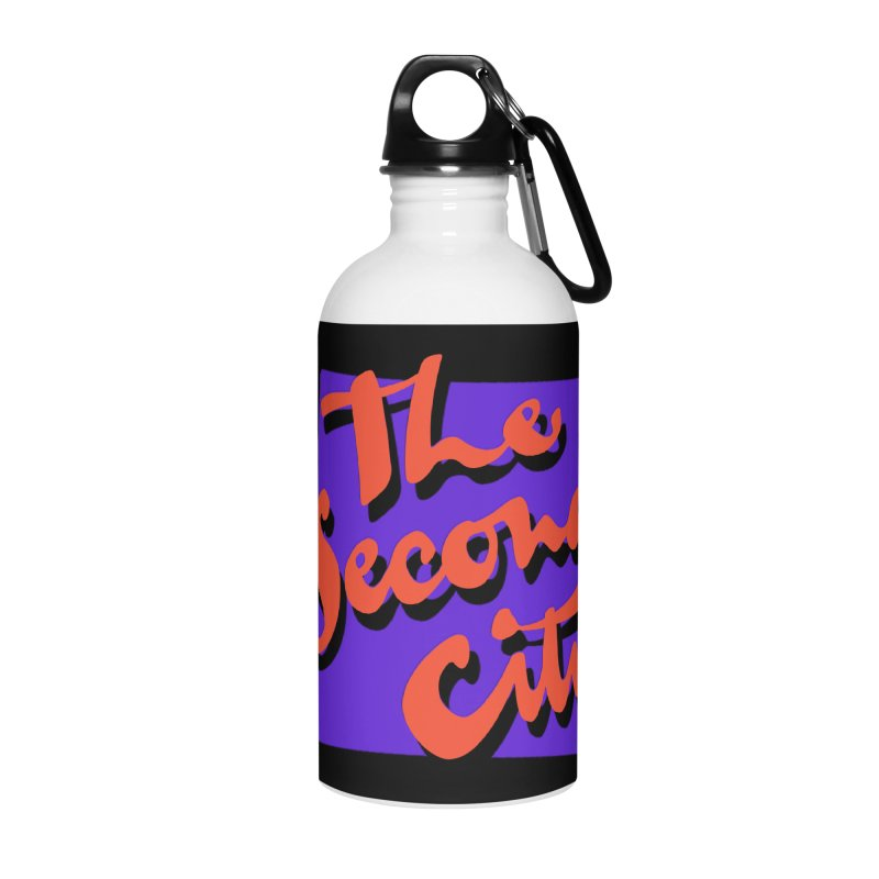 80s Stacked Accessories Water Bottle by The Second City