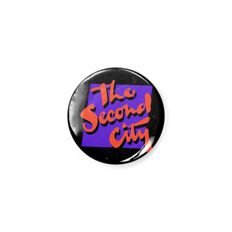 80s Stacked Accessories Button by The Second City