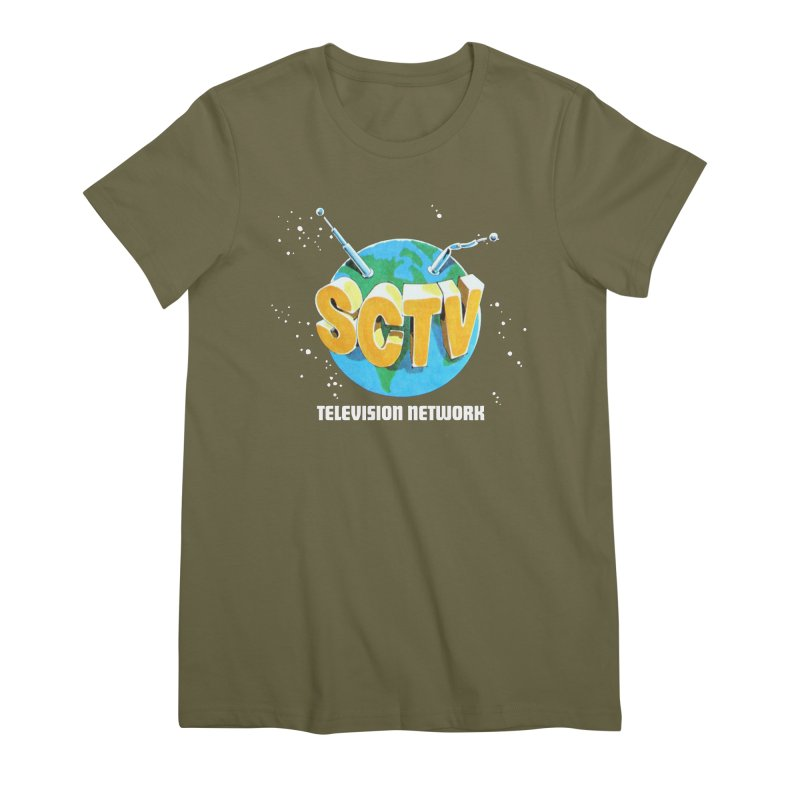 SCTV Global Women's Premium T-Shirt by secondcity's Artist Shop
