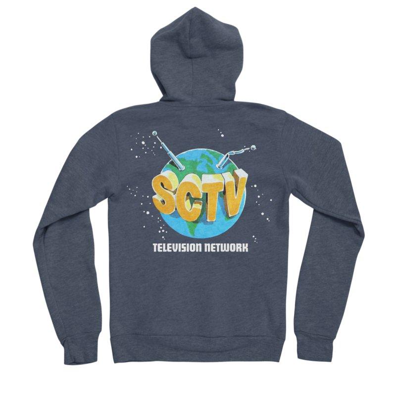 SCTV Global Women's Sponge Fleece Zip-Up Hoody by The Second City